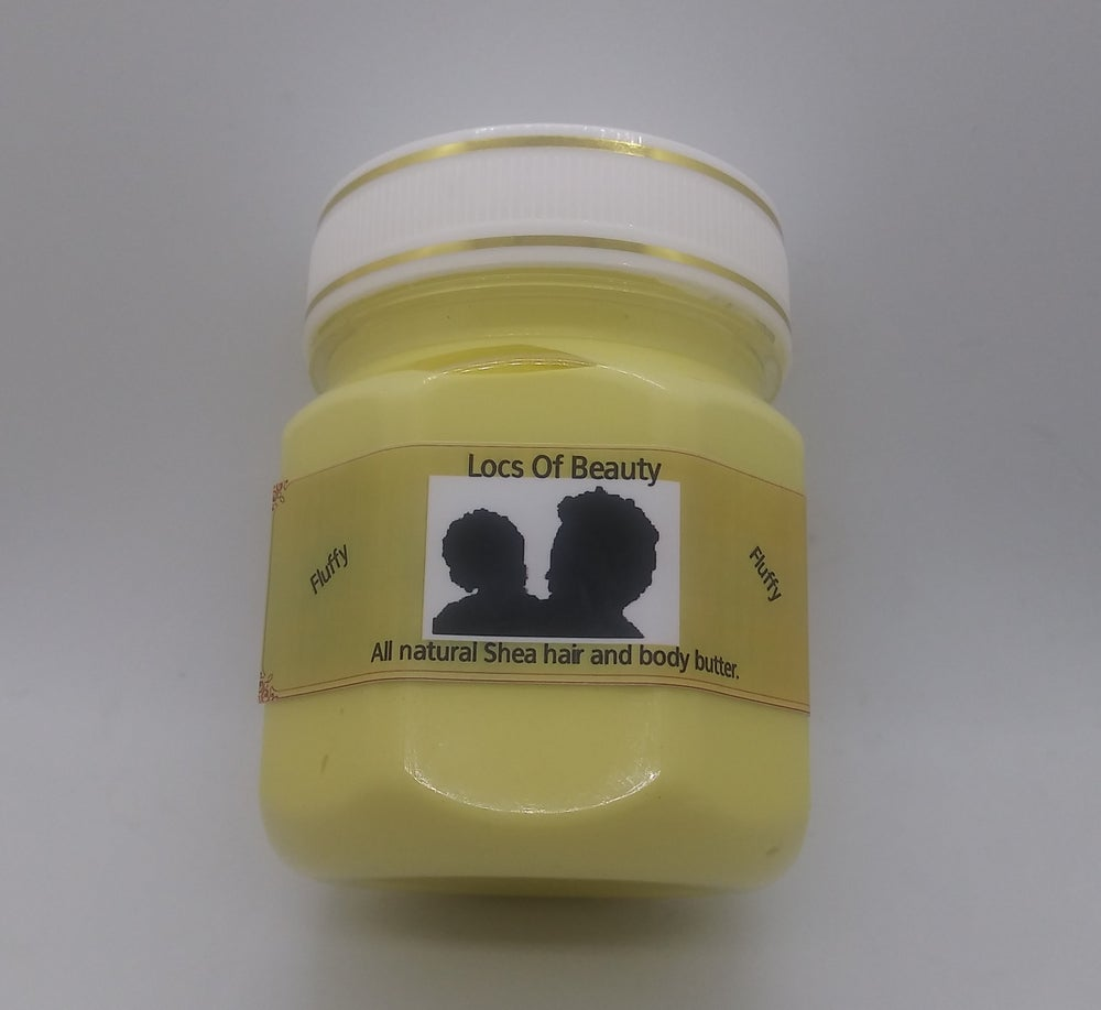 Image of All natural, whipped, fluffy, Shea hair and body butter cream.