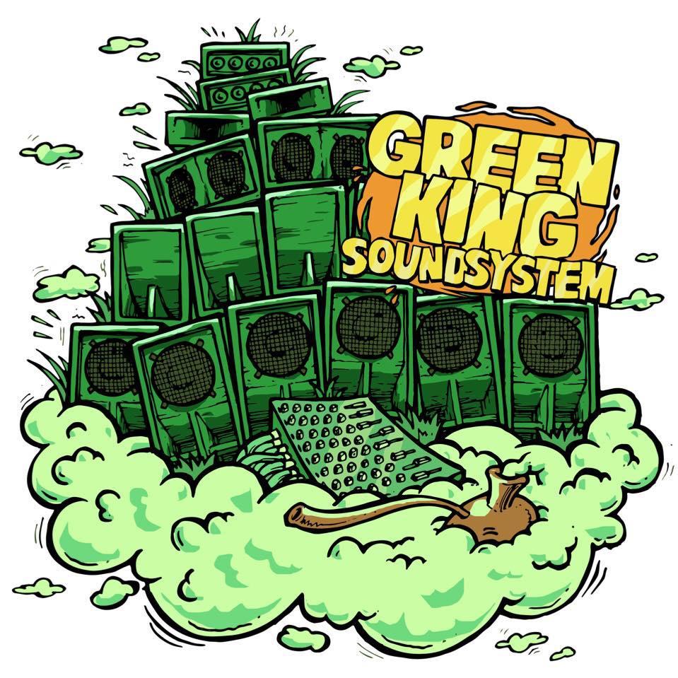GREEN KING SOUNDSYSTEM FT VERSA & KING ALPHA MIXES B1 & B2 / GKSS001
