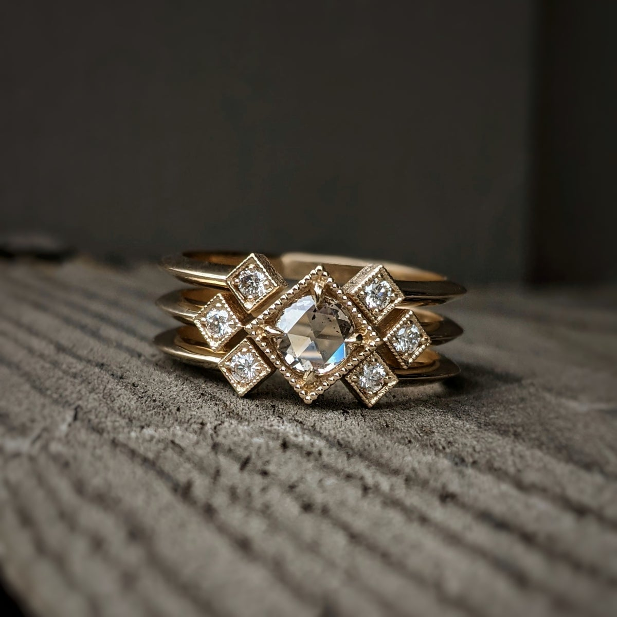 Image of Celeste Claire Ring Set