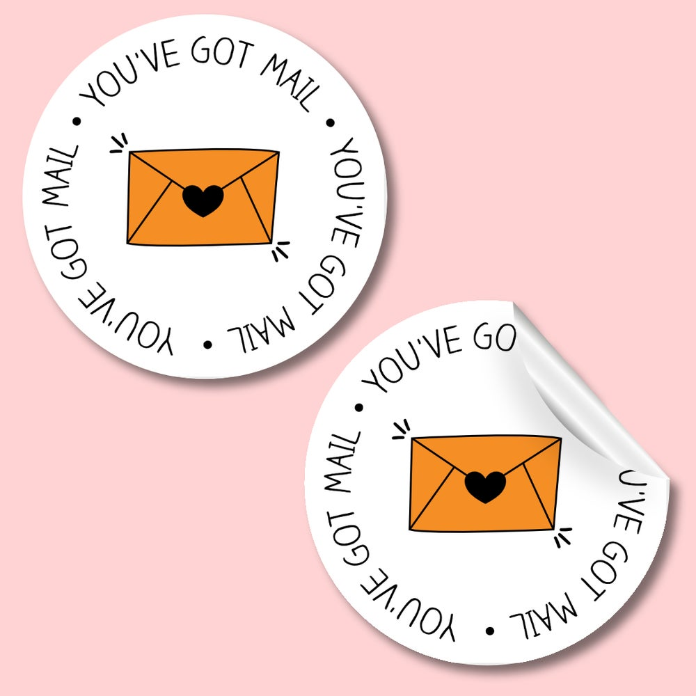 You've got mail stickers *choose the colour of the envelope and stars*
