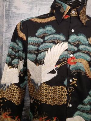 Image of Cranes and Dragons mens shirt