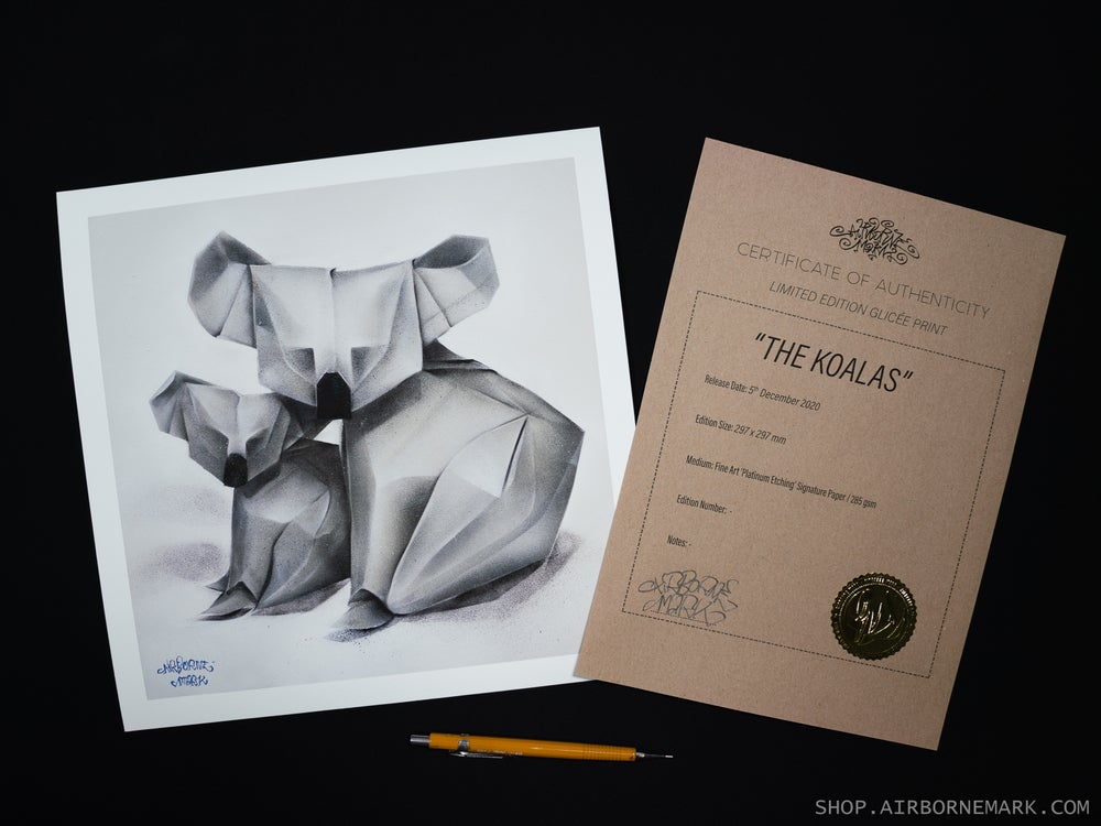 Image of The  Koalas Giclee Print