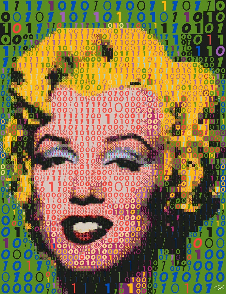 Image of Binary Marilyn