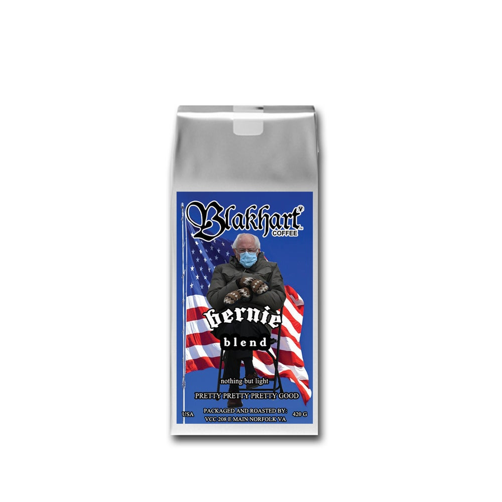 """Image of """"BERNIE BLEND"""" XX LIGHT ROAST, WE GROUND IT FOR YOU"""
