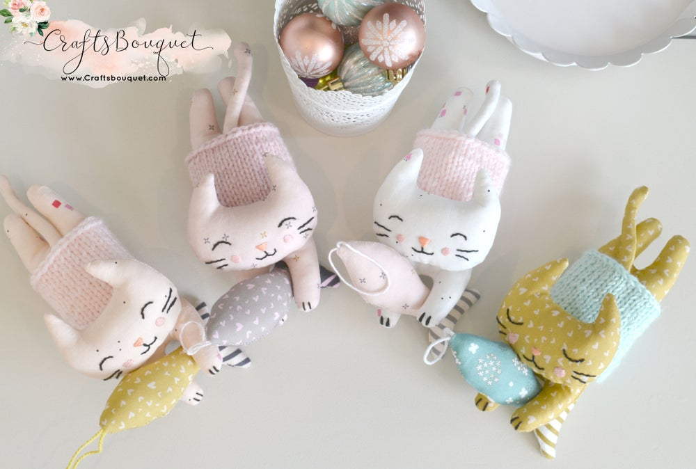 Image of Cupcake Plush Kitty Set
