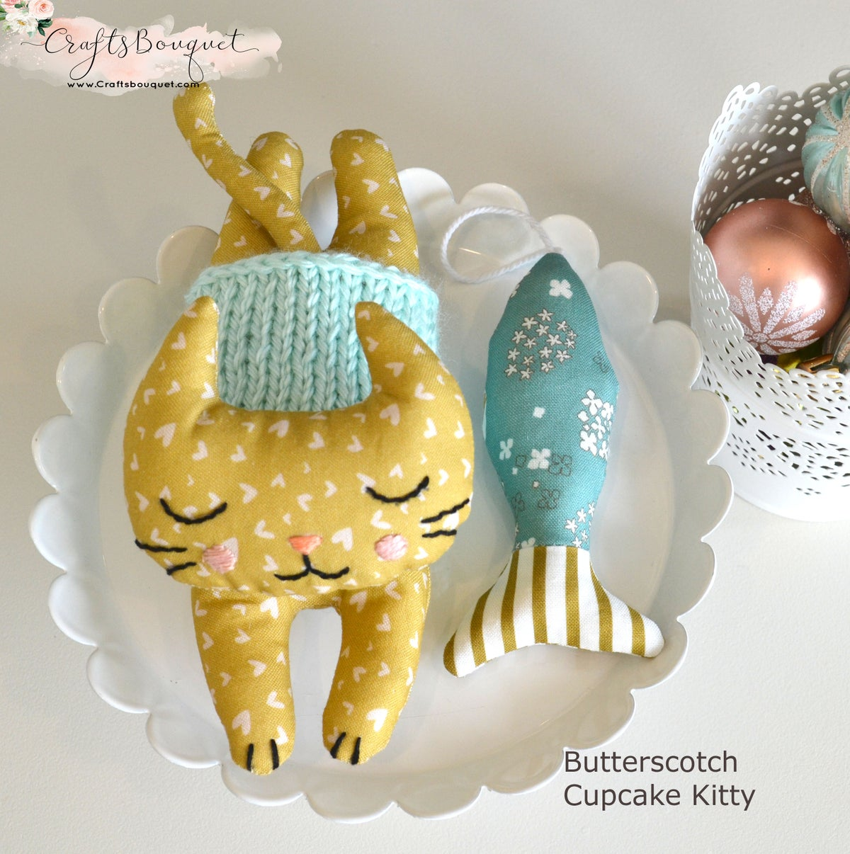 Image of Cupcake Plush Kitty Set