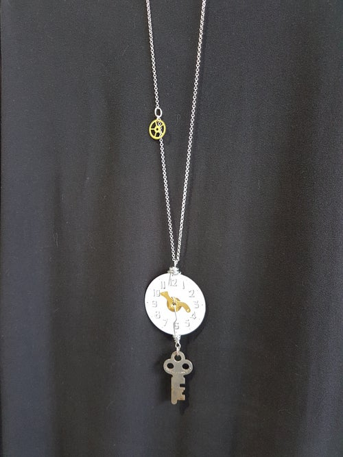 Image of steampunk 1 necklace