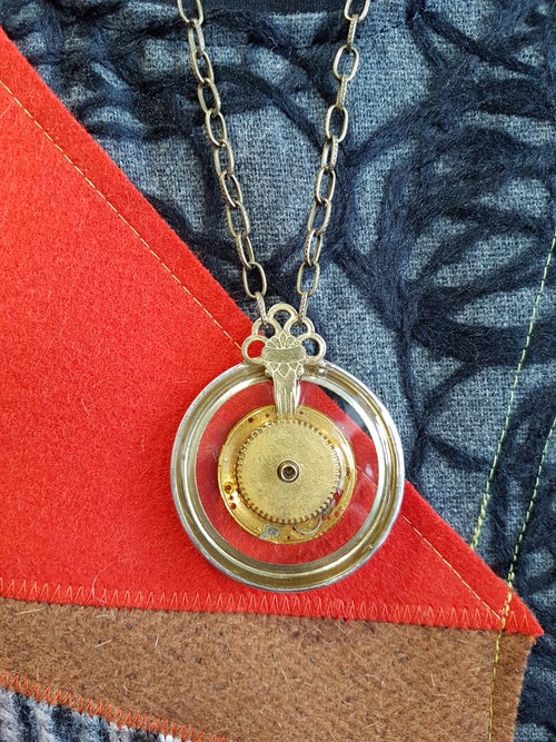 Image of steampunk 2 necklace