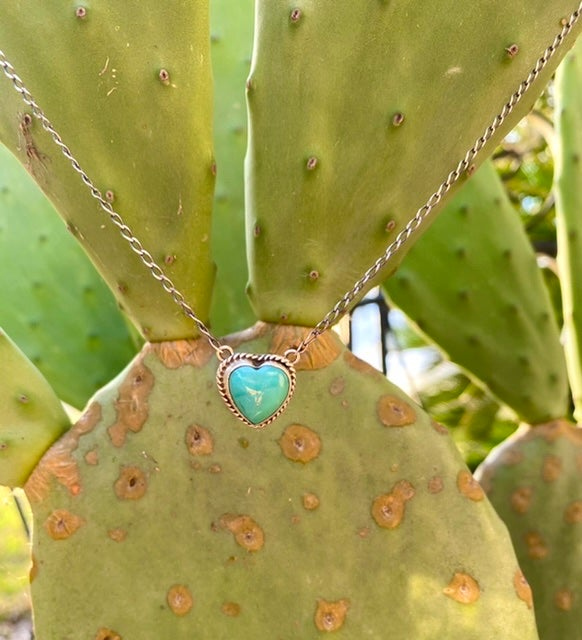 Heart of Love Turquoise Necklace