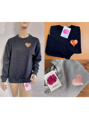 Image of Harriet heart sweater - adult