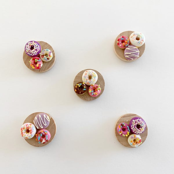 Image of Dollhouse Valentines Donuts