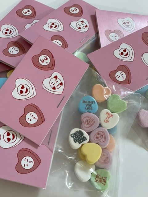 Image of ❤️Valentine Candy Hearts (Vegan)