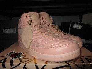 "Image of Air Jordan II (2) Retro ""Arctic Orange"" GS *PRE-OWNED*"