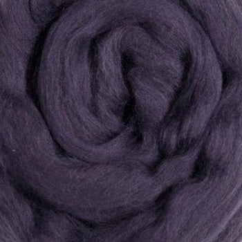 Image of This is a Pre-Order for PLUM Merino Top Dyed Solid Color Micron 21.5 - 1 lb