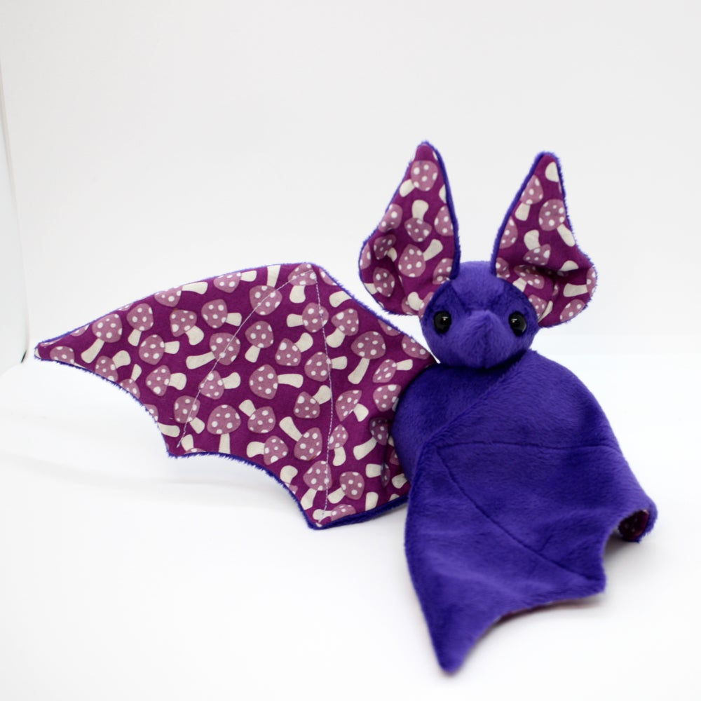 Image of Purple Poison Mushroom Bat - Ready to Ship