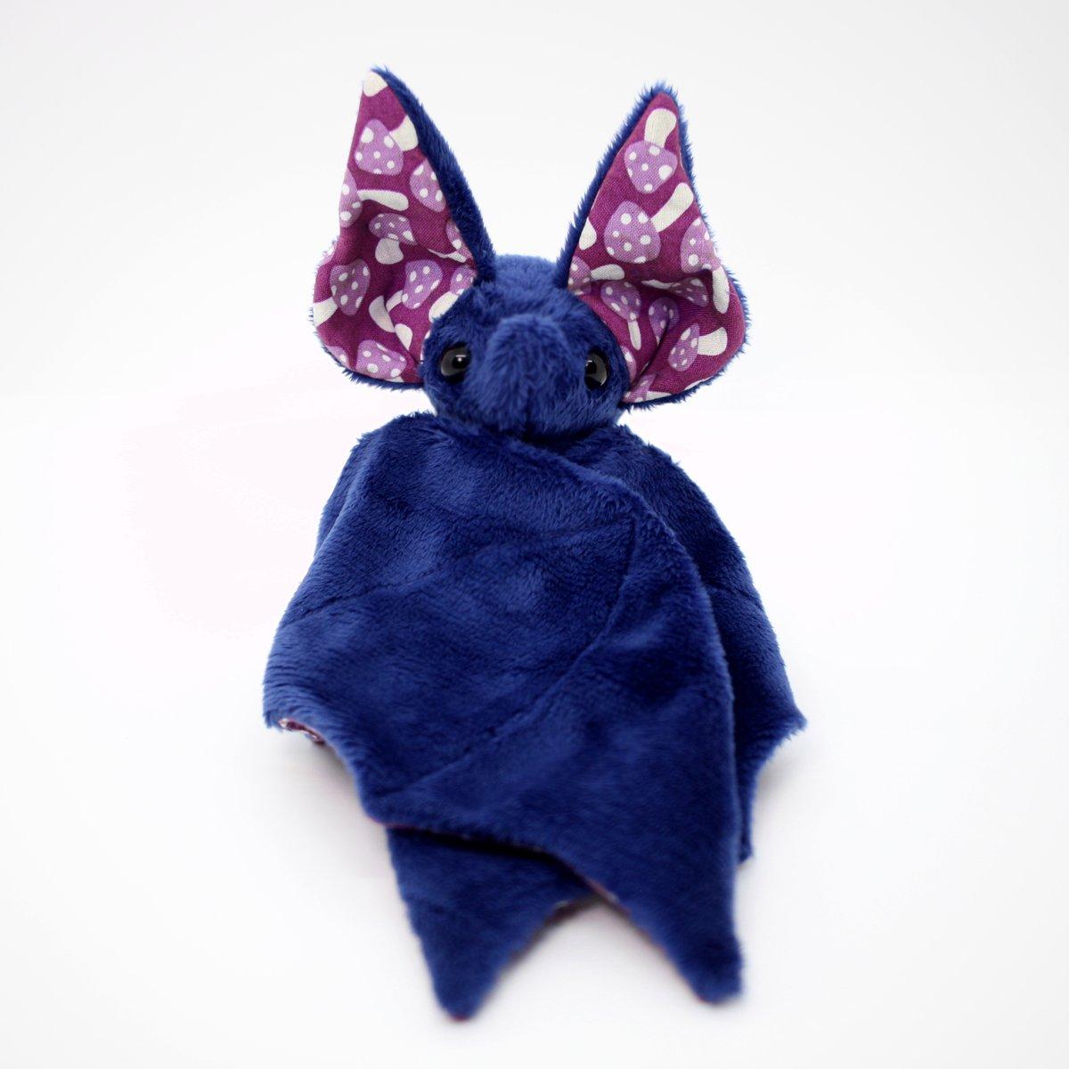 Image of Midnight Blue Poison Mushroom Bat - Made to Order