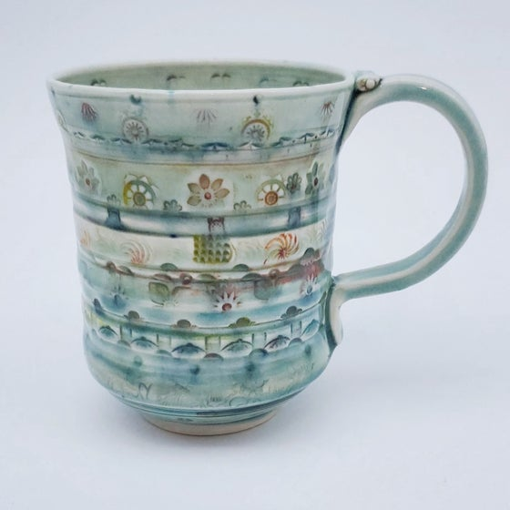 Image of Patchouli Flora Porcelain Mug