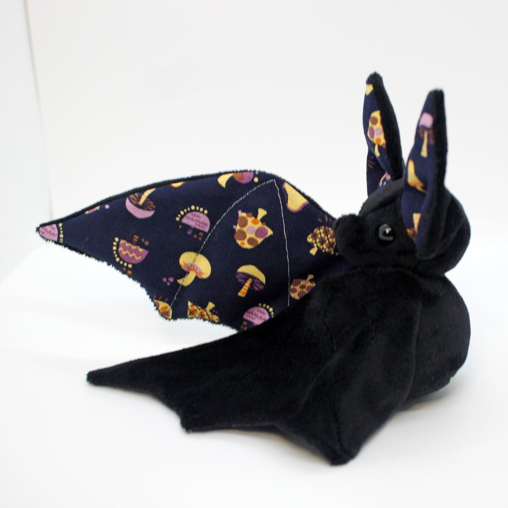 Image of Black Poison Mushroom Bat - Made to Order