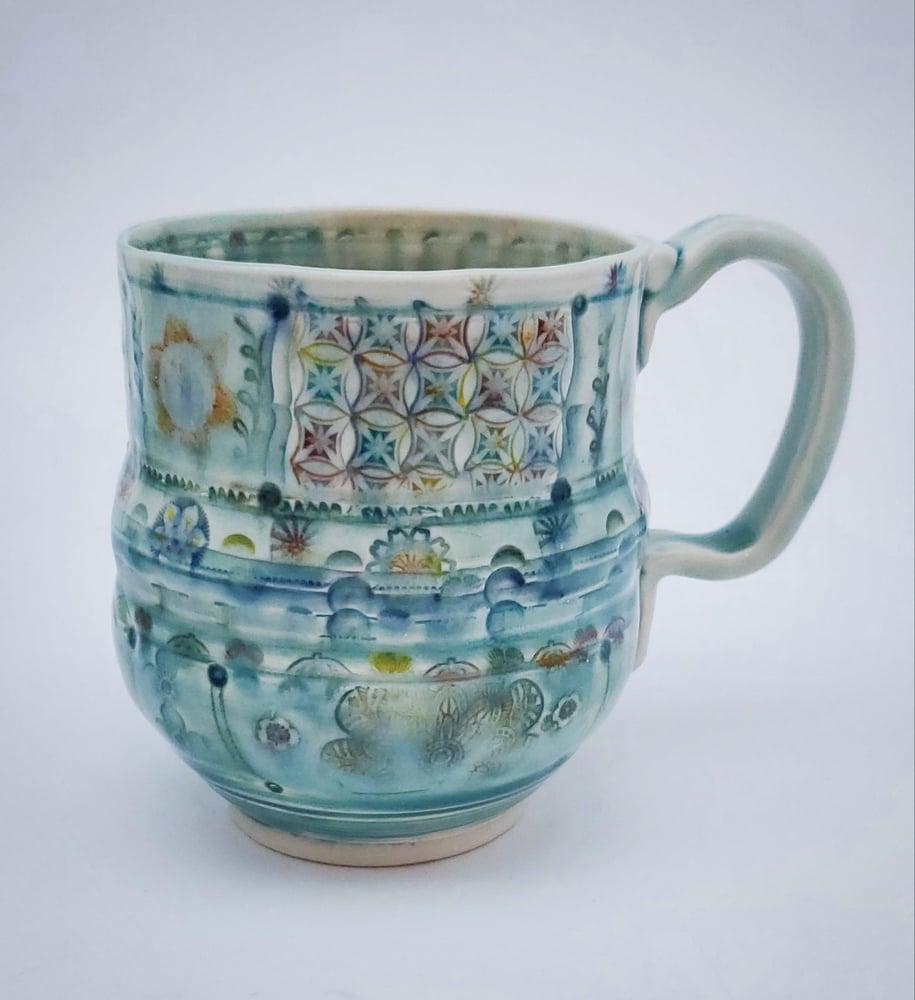 Image of Diamond Patch Porcelain Mug