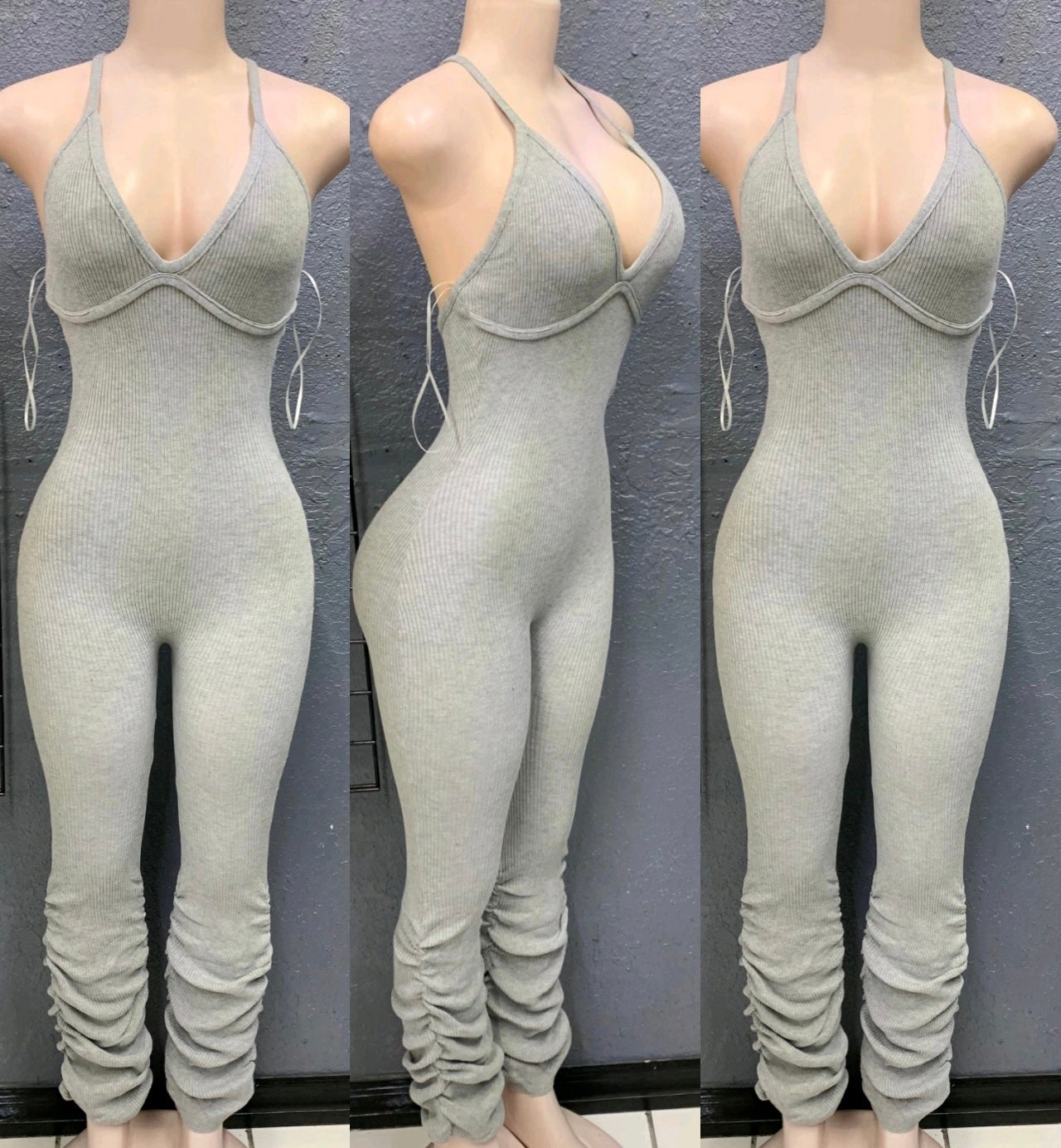 Image of Talk to me stack jumpsuits