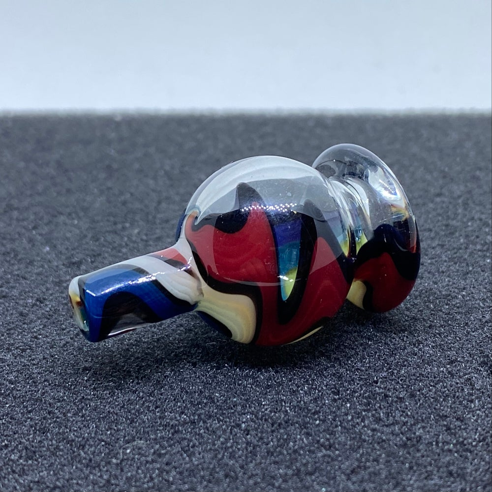 Image of Some Glass Blower Line Work Bubble Cap #11