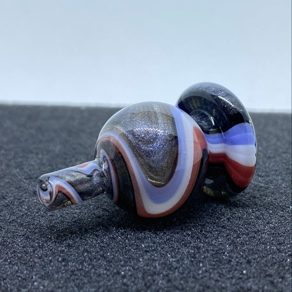 Image of Some Glass Blower Line Work Bubble Cap #10