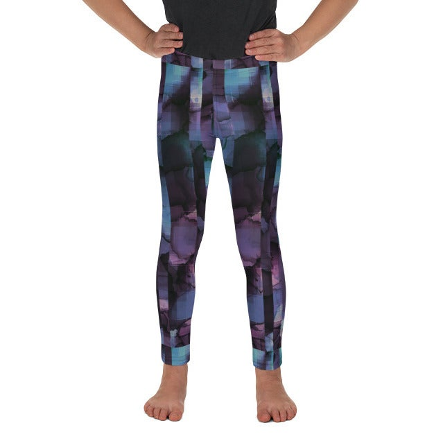 Image of Girl's Pixel Yoga Pants