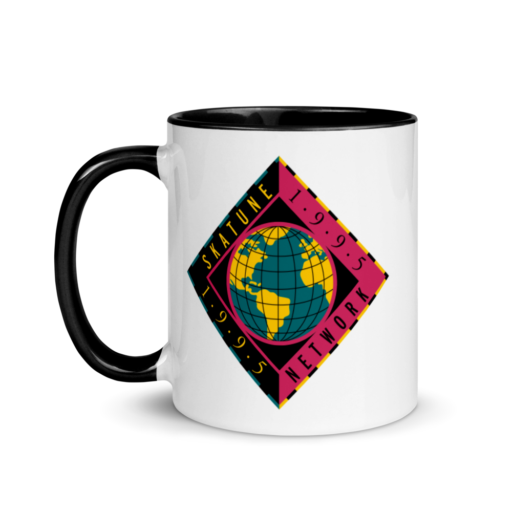 Image of SKATUNE GLOBAL  1995| Red or Black Mug