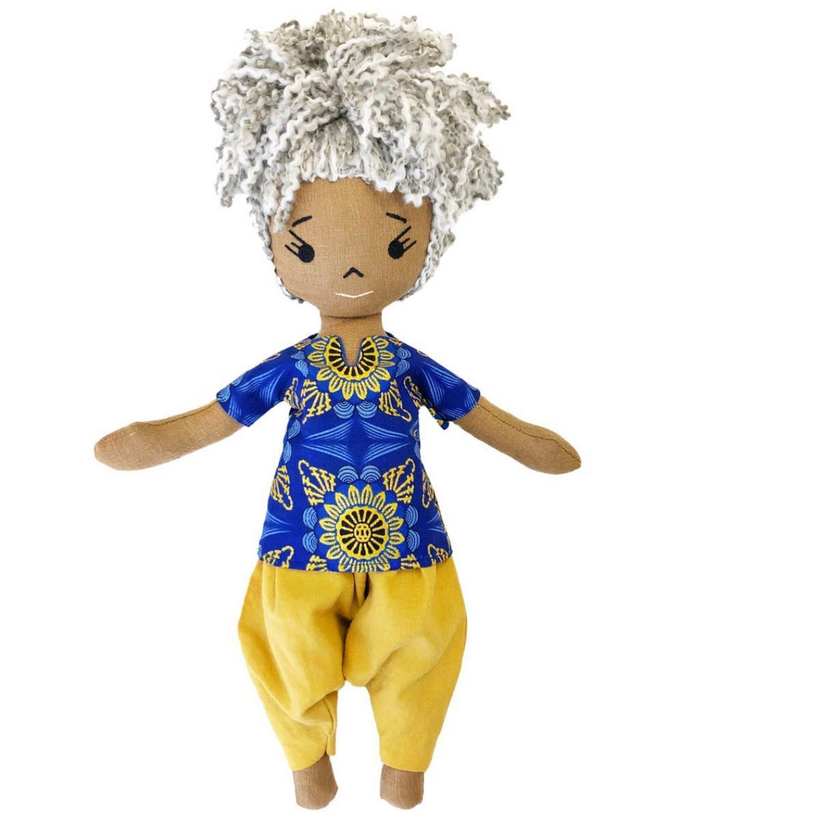 Nadiya Handmade Linen Doll (AVAILABLE JULY 1 2021)
