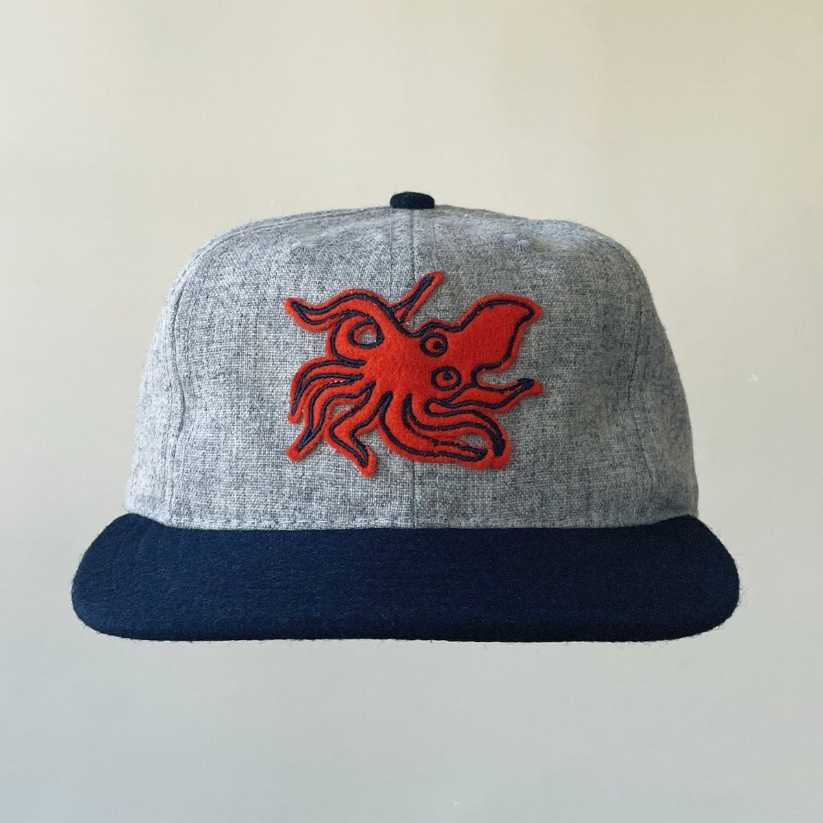 Image of Love Garden Squids - Ebbets Field 6 Panel Cap - Preorder to Arrive around May 1st, 2021