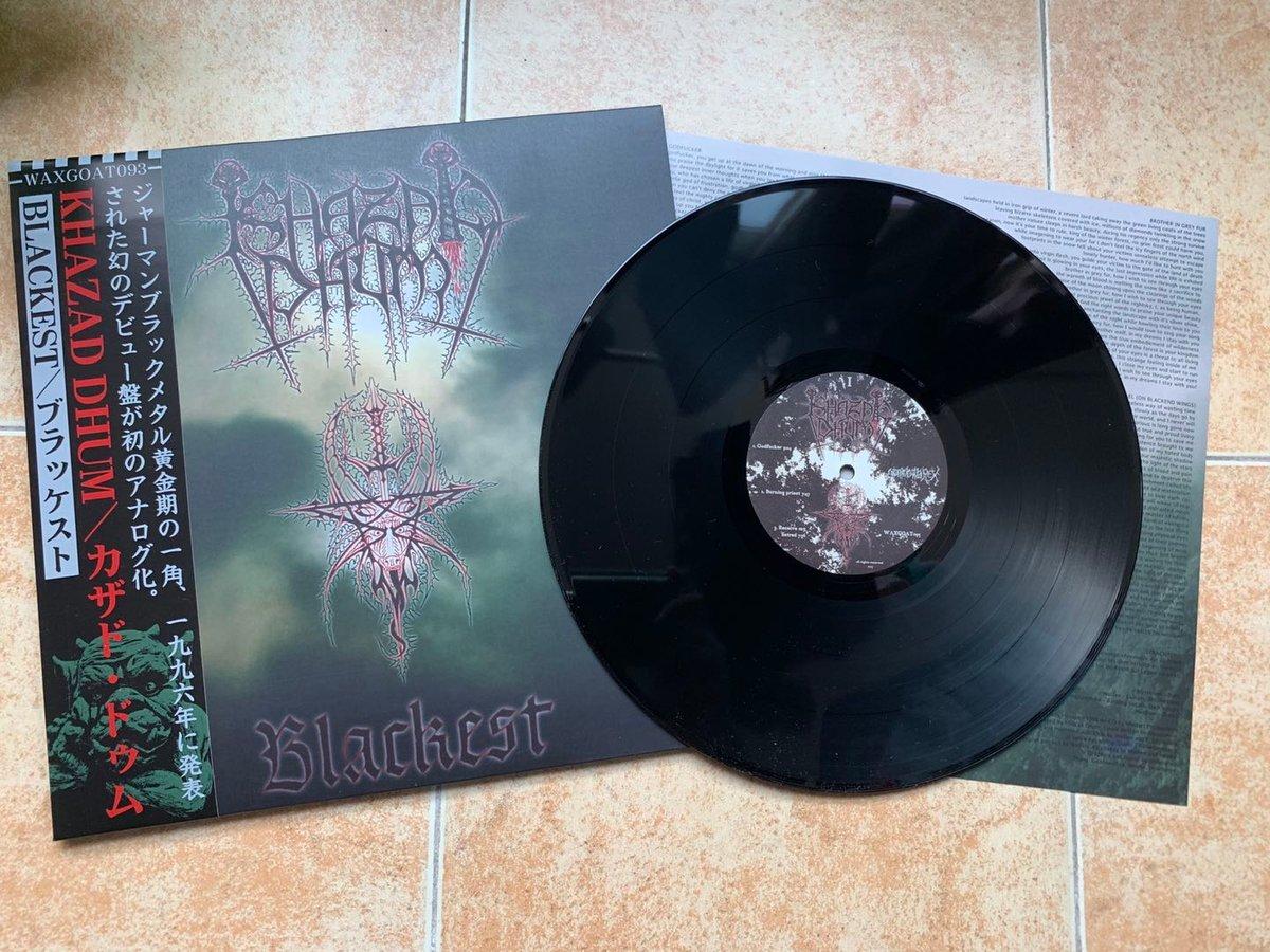 WAXGOAT093 Khazad Dhum (Ger) - Blackest - LP