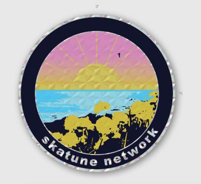 Image of OCEAN | Prismatic Sticker