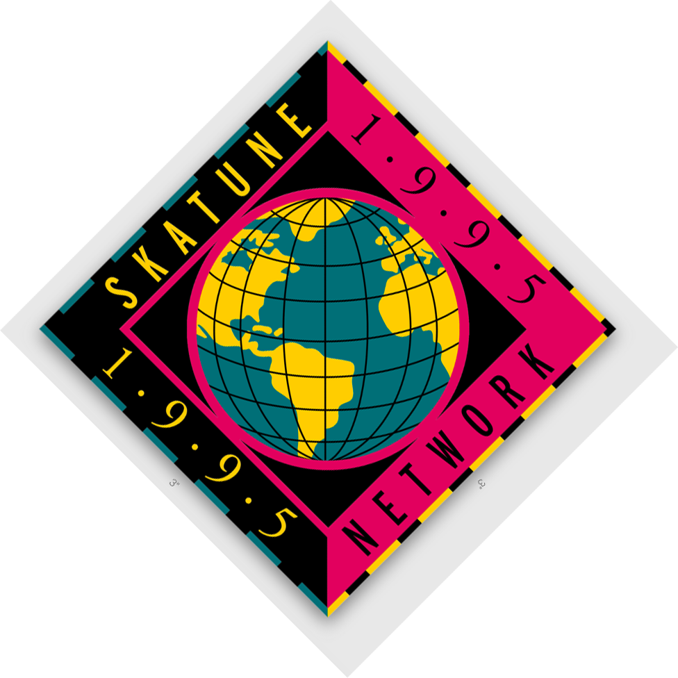 Image of SKATUNE GLOBAL 1995 | Sticker
