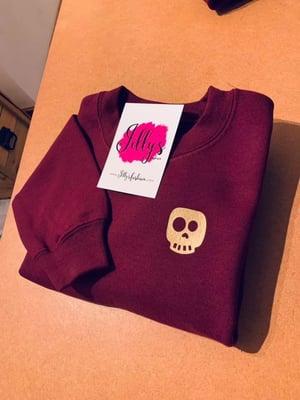 Image of Skye skull sweater - child