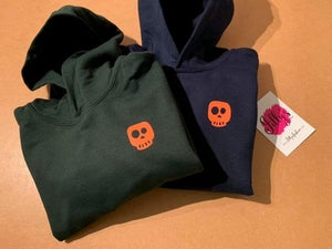 Image of Skye skull hoodie - child