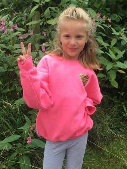 Image of Harriet heart sweater - kids