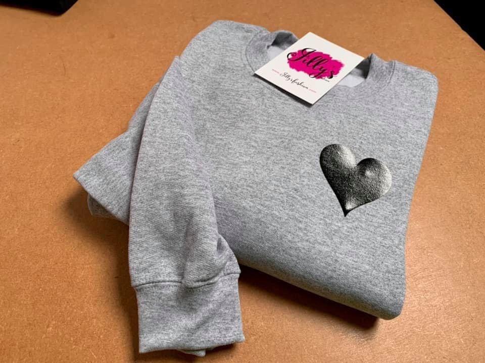 Harriet heart sweater - child