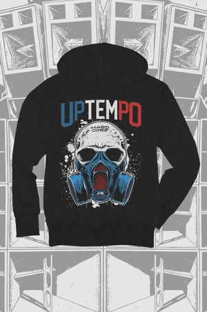 Image of Uptempo Gasmask Zip Hoodie