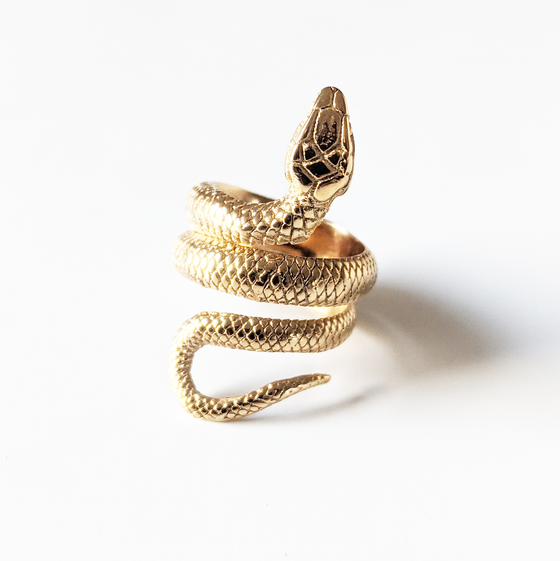 Image of Gold Slither Ring
