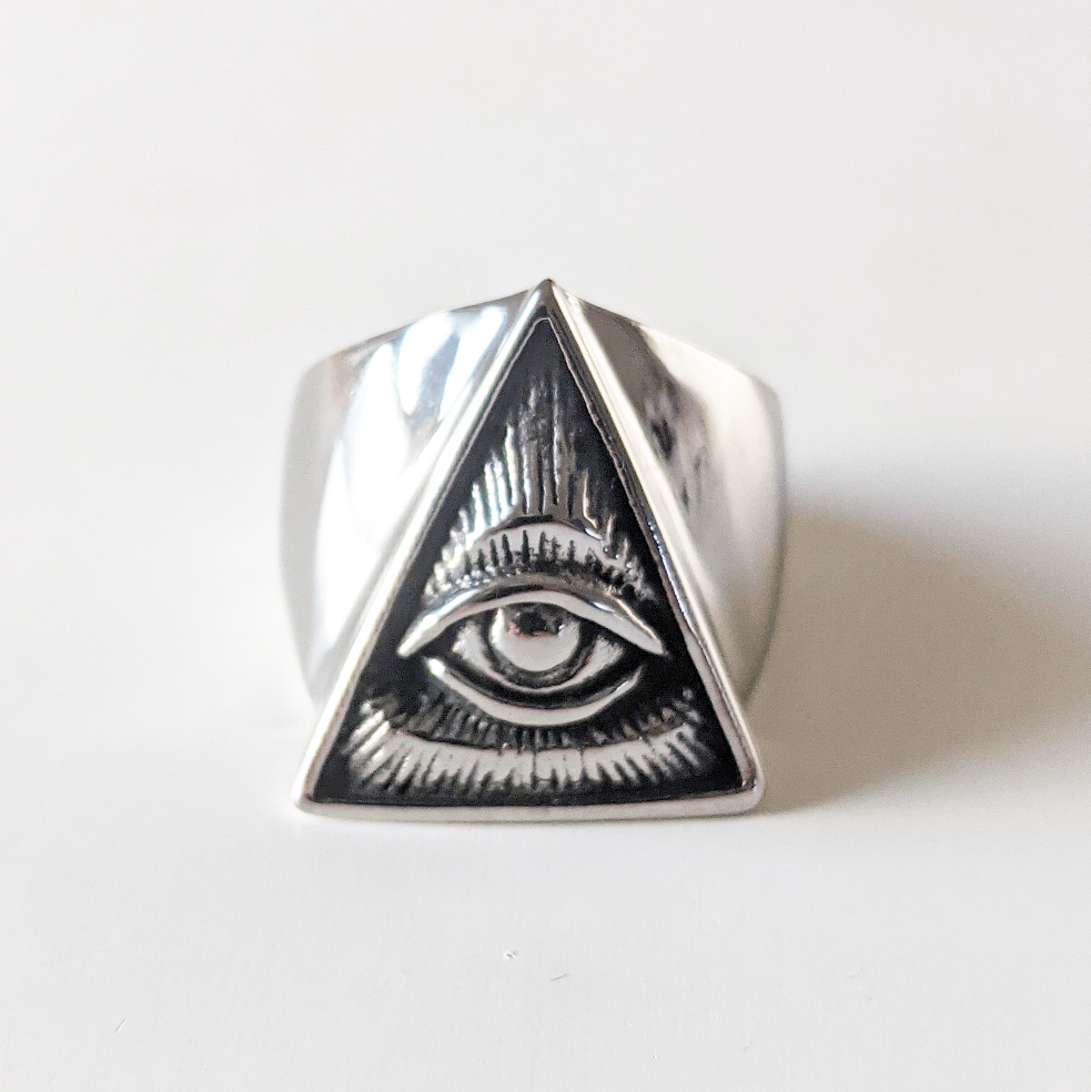 Image of All Seeing Eye Ring