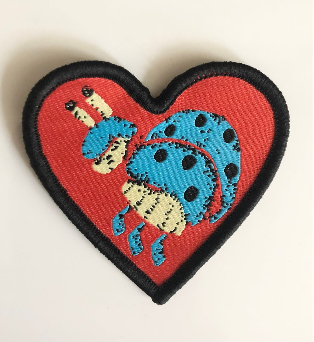 Image of Lovebug Embroidered Patch