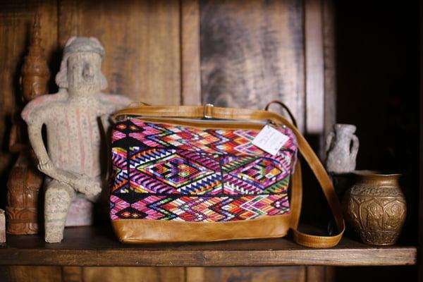 Image of Multi Huipil purse