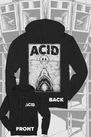 Image of Acid Shark - ZipHoodie