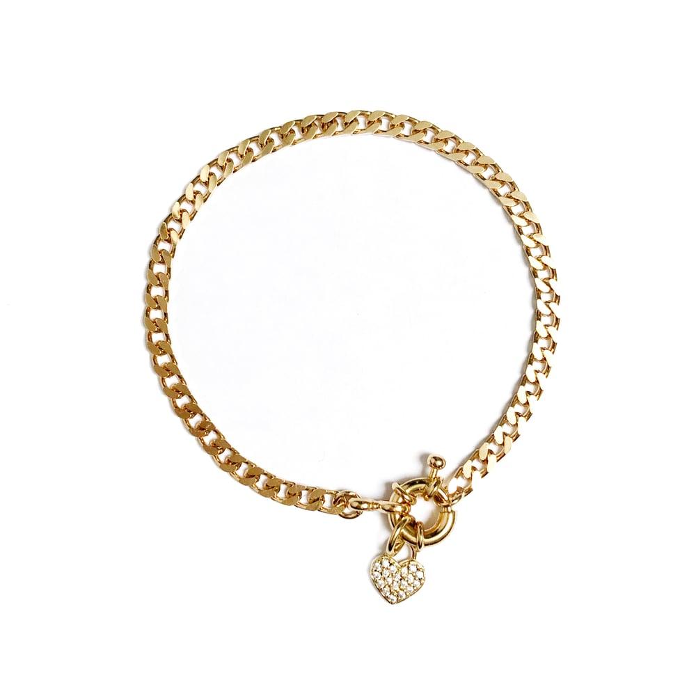 Image of Bracelet PASSION Plaqué or