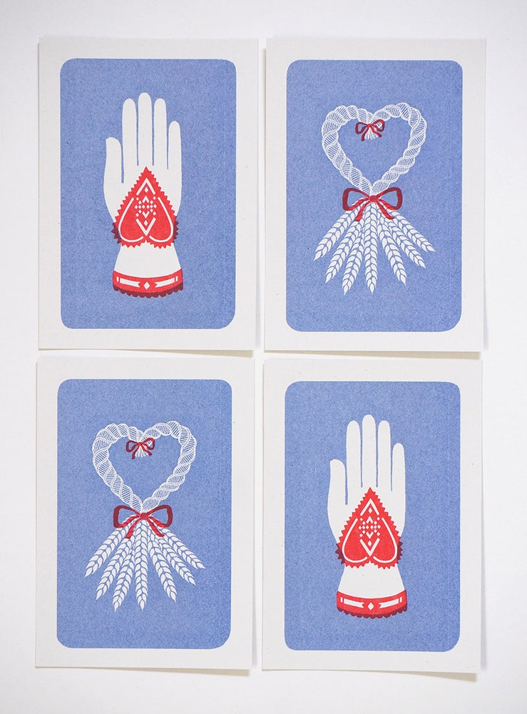 Image of Tokens of Affection - Mini Riso Prints