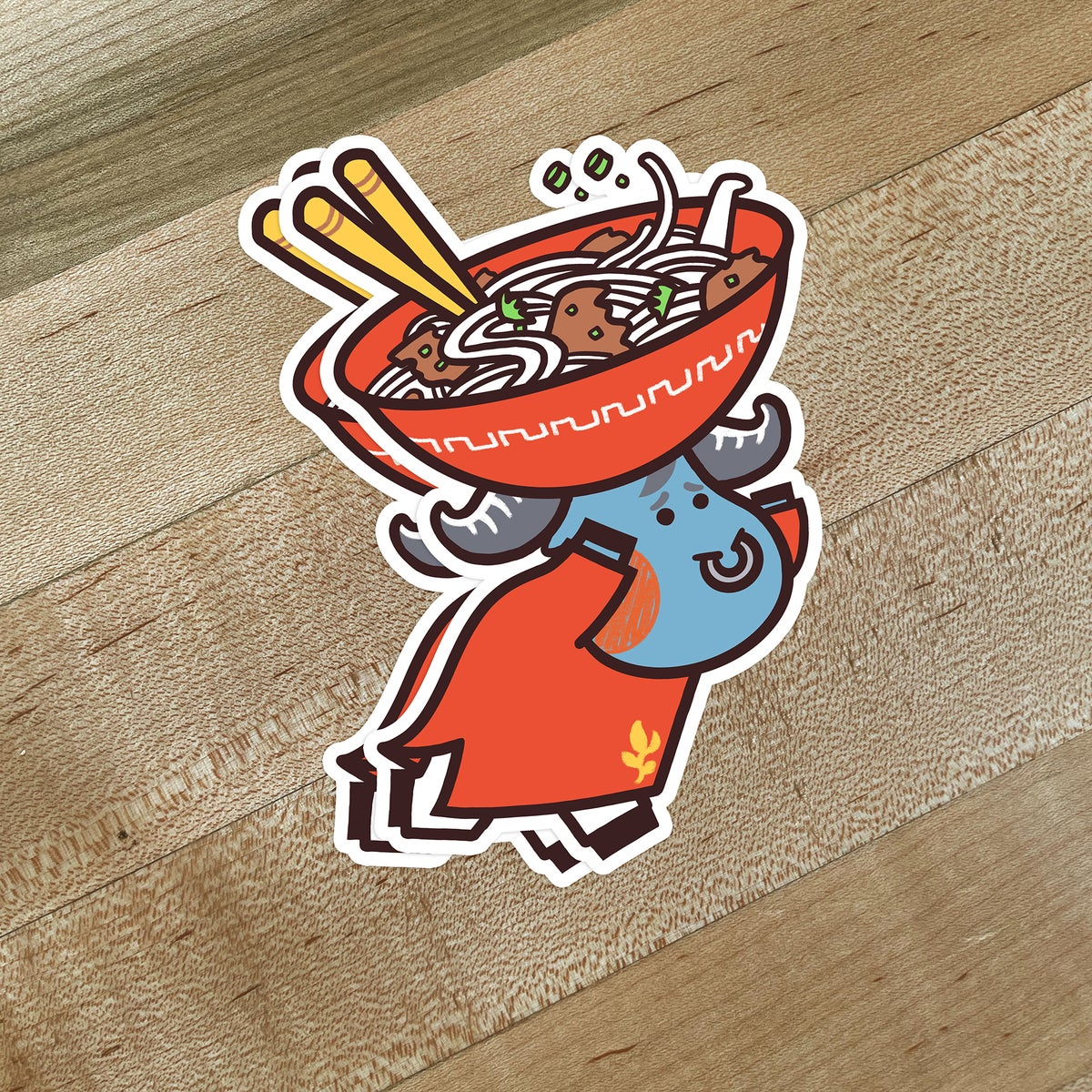 Image of Pho Ox Stickers
