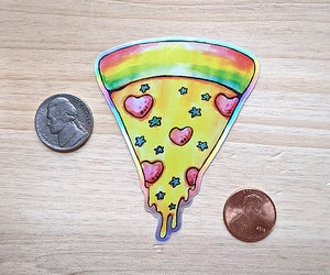 Image of Celestial Pizza Sticker