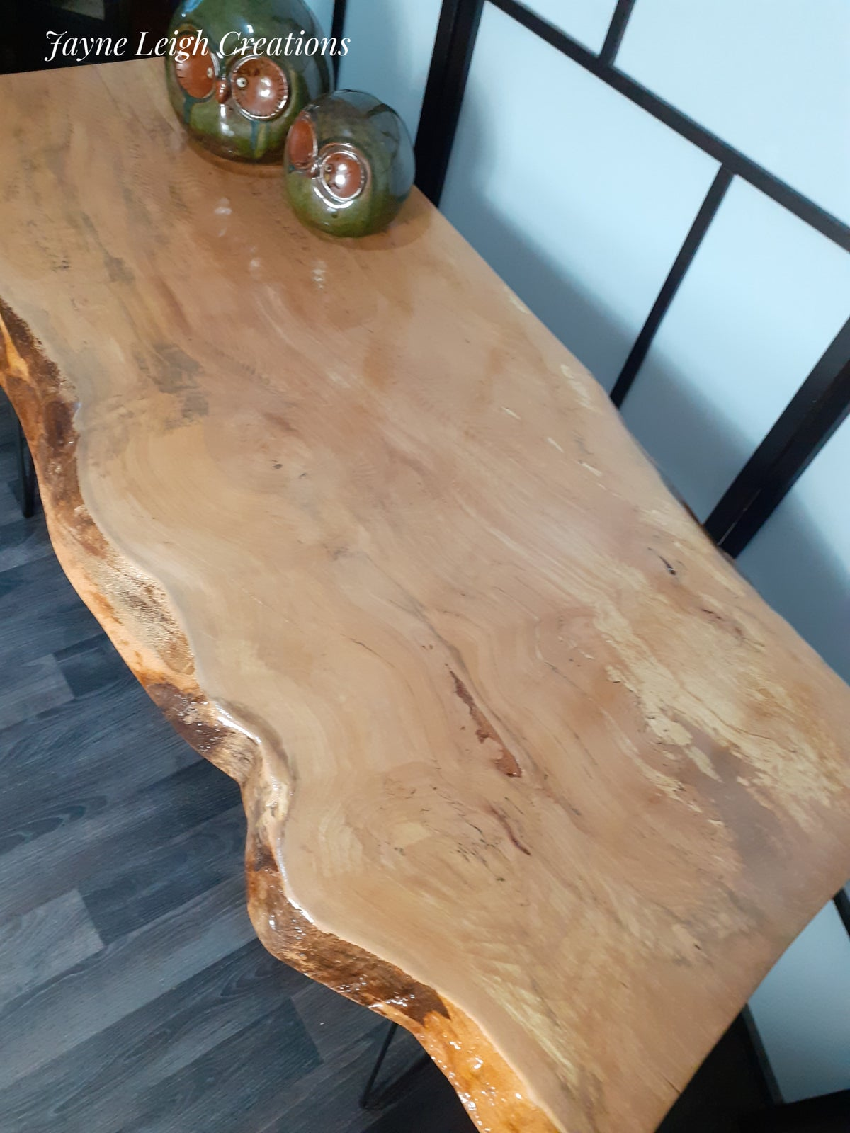 Image of Live Edge Spalted Beech Dining Table