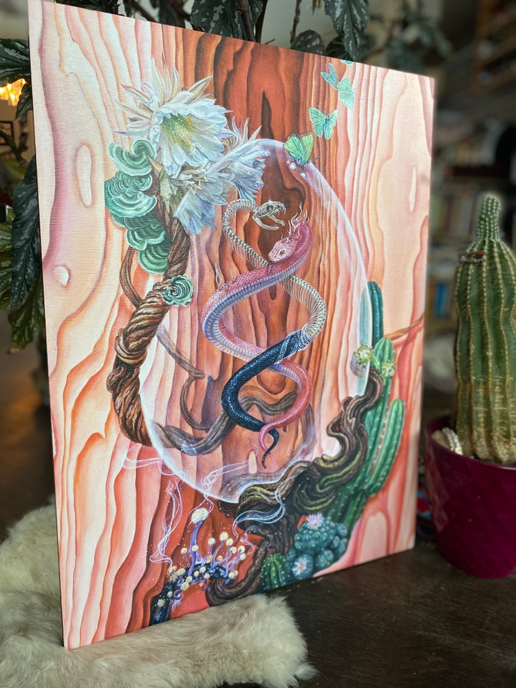 Image of The Process of Becoming ~ wood print {only 1 in stock!}
