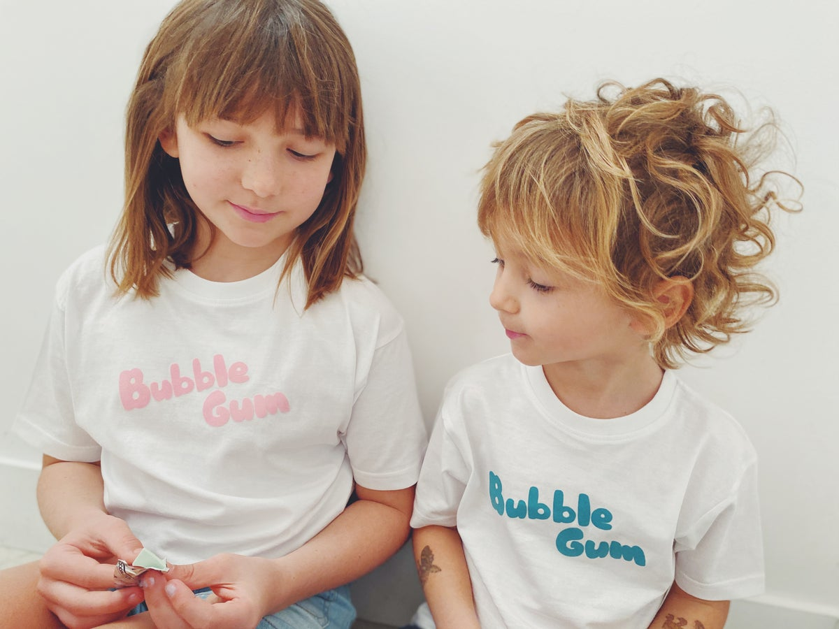 Image of Tee shirt blanc BUBBLE GUM